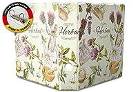 バインダー 2 Ring Binder Lever Arch Folder A4 printed Herbal organic cosmetics