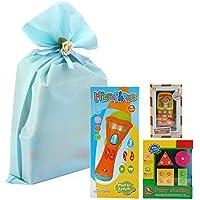 Kidsマイクモバイルスタックセット – Wishland 3pcs子供おもちゃSerパックの3種類おもちゃwith aバッグPacking for Toddler Boys Girls