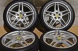 【中古 19インチ タイヤホイール】Ferrari(フェラーリ) F430 純正 BBS RD201 RD202 19in タイヤホイール【T1001A60HP】