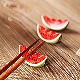 箸置き かわいい スイカ ギフト シンプル 和食器 おもしろ 萌え スイカ セット 4個入り アイテム
