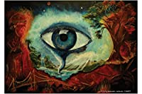 冷蔵庫用マグネット Fridge Magnet Fantasy Motif Krakowski Traumbaum eye