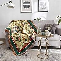スリップカバー、家具カバー、美しいパターンは両側で使用することができます、滑り止めの洗える、屋外/リビングルーム/寝室に適して 波西米亚风情An)