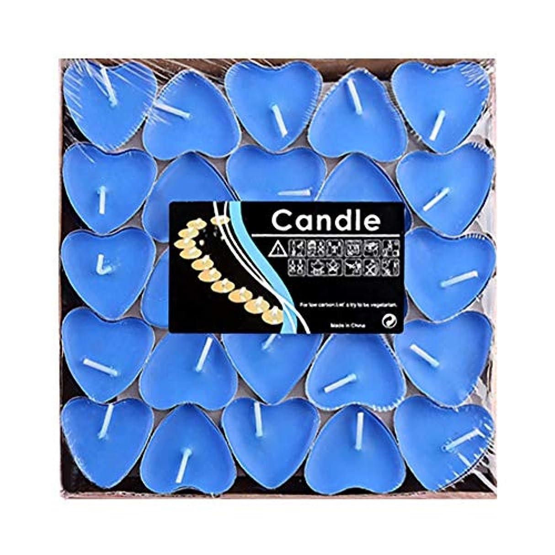 ばかげている気を散らす大騒ぎHwagui ハート型 キャンドル 人気 アロマキャンドル 芳醇で キャンドル ロマンス、愛の告白、キャンドル 50個 2時間 ZH009