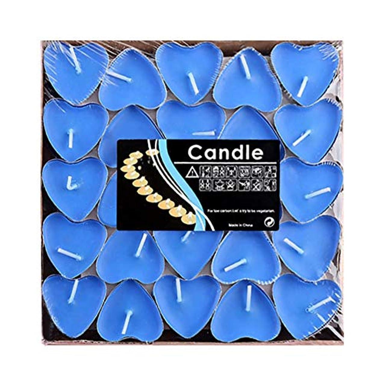 ふくろうスペード全能Hwagui ハート型 キャンドル 人気 アロマキャンドル 芳醇で キャンドル ロマンス、愛の告白、キャンドル 50個 2時間 ZH009