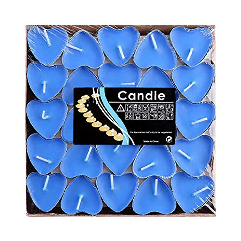 記録特別な真面目なHwagui ハート型 キャンドル 人気 アロマキャンドル 芳醇で キャンドル ロマンス、愛の告白、キャンドル 50個 2時間 ZH009