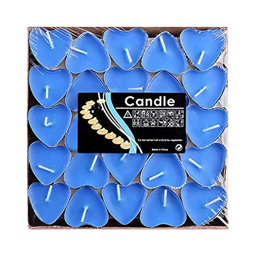 請願者捕虜凍るHwagui ハート型 キャンドル 人気 アロマキャンドル 芳醇で キャンドル ロマンス、愛の告白、キャンドル 50個 2時間 ZH009