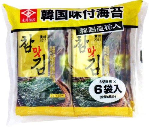 韓国味付海苔 6袋
