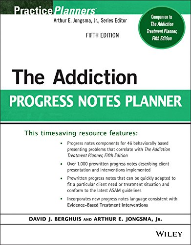 Download The Addiction Progress Notes Planner (PracticePlanners) 1118542967