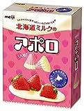 明治  北海道ミルクの大粒アポロ  48g×10箱