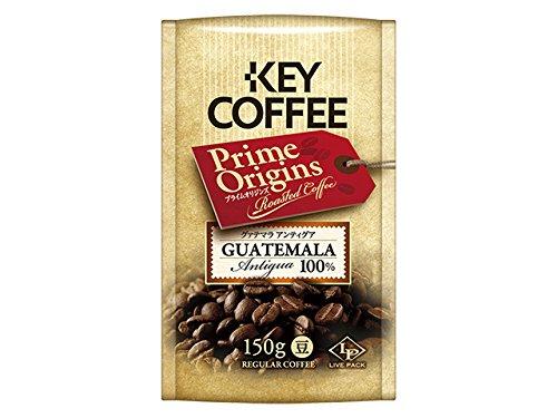 キーコーヒー LP プライムオリジンズ グァテマラ アンティグア 150g