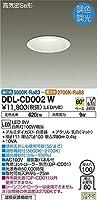 DAIKO LEDダウンライト 高気密SB形 調色・調光タイプ 昼白色~電球色 白熱灯100Wタイプ 埋込穴φ100 ホワイト DDL-CD002W