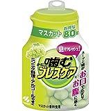 噛むブレスケア 息リフレッシュグミ マスカット ボトルタイプ お得な80粒