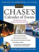 Chase's Calendar of Events 2009 (Book + CD-ROM): The Ulitmate Go-To Guide for Special Days Weeks and Months【洋書】 [並行輸入品]