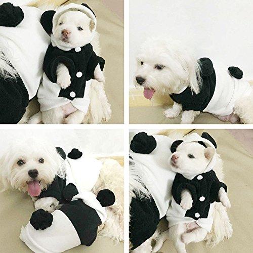 【ノーブランド 品】犬 ジャンプスーツ 冬 パーカー 子犬 猫 ジャンパー 暖かい 服 衣装 全5サイズ選べる - S