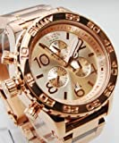 ニクソン NIXON 腕時計 THE 42-20 CHRONO A037-897 ピンクゴールド ALL ROSE GOLD クロノグラフ ダイバーウォッチ 【並行輸入品】