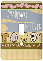 3drose LSP 33997_ 1Shameless Cat Lover Kittens Pets Animals Cartoon Hearts Cute Cats Single切り替えスイッチ