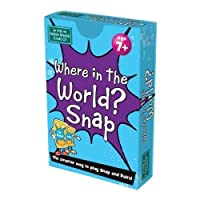 Where in the World ? Snap Card Game