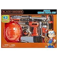 [ブラックデッカー]BLACK+DECKER Black and Decker Jr Mega Tool Set 58505 [並行輸入品]