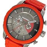 ディーゼル DIESEL ストロングホールド クオーツ クロノ メンズ 腕時計 DZ4384 ガンメタ/レッド