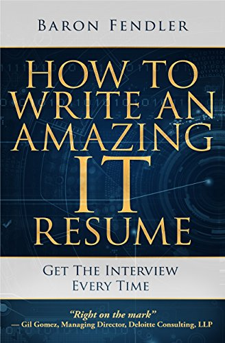 amazon co jp how to write an amazing it resume get the interview