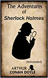 The Adventures of Sherlock Holmes: (Annotated) (English Edition)