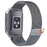 no1seller Top Fitbit Ionicバンドスモール&ラージ、磁気ミラネーゼループステンレススチールバンド交換用アクセサリfor Fitbit Ionic Smartwatchレディースとメンズ - Best Reviews Guide