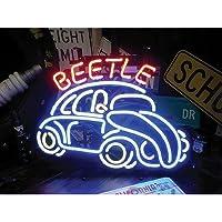 ネオンサイン ビートル BEETLE フォルクスワーゲン ビートル ネオン管 ネオンライト 店舗照明 ガレージ アメリカン雑貨