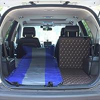 YJH+ アウトドアシングルダブルSUV自動インフレータブルマットレスカーベッドインフレータブルベッドカー車のベッドショックベッドインフレータブルクッション 美しく、寛大な ( 色 : 青 , サイズ さいず : A )
