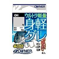オーナー(OWNER) 茶 身軽グレ 7号 16593