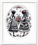 オリムパス製絲 クロスステッチ刺しゅうキット オノエ・メグミ 「赤毛のアンの物語」 アンとダイアナ 7455