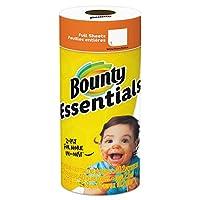 Bounty 92976基本的な紙タオル、10.19インチx 10.98インチ、1-ply、ホワイト Select 92976 30