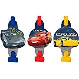 Disney Cars 3 Lighning Mcqueenキッズ誕生日パーティーBlowouts誕生日パーティーFavor – 8 cts