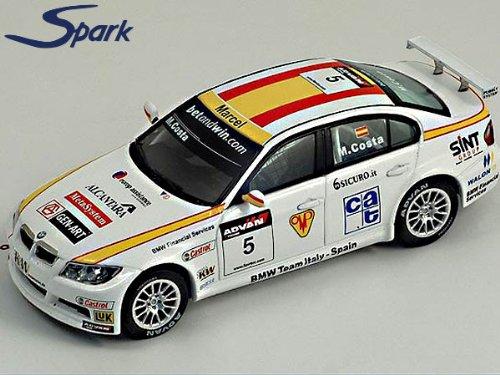 スパークモデル 1/43 BMW 320 SI #5 WTCC 2006