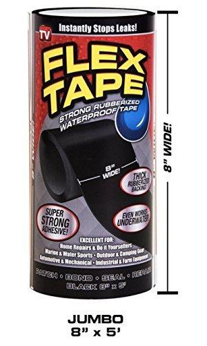フレックステープ黒 ブラック 8
