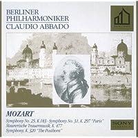 モーツァルト:交響曲第25番,第31番 他