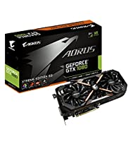 Gigabyte GeForce GTX 1080Founders Editionグラフィックカード GV-N1080AORUS X-8GD