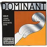 Dominant ドミナント 4/4バイオリン弦セット(E線130MSスチール、ループエンド)