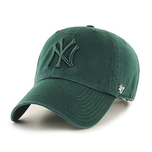 47 Brand リラックスフィット キャップ - MLB ニューヨーク・ヤンキース (New York Yankees) ダーク 緑