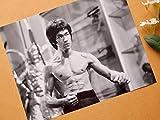 特大写真「燃えよドラゴン」ブルース・リーの肖像