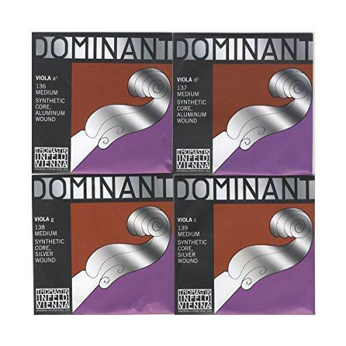 DOMINANT ドミナント ヴィオラ弦 A線、D線、G線、C線4種セット 4/4 141
