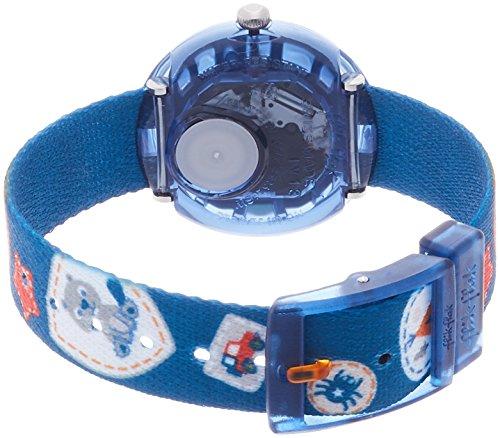 [フリックフラック]Flik Flak [フリック フラック]FLIK FLAK キッズ腕時計キャンピング・バッジ・ブルー FBNP094 ボーイズ 【正規輸入品】 FBNP094 ボーイズ 【正規輸入品】