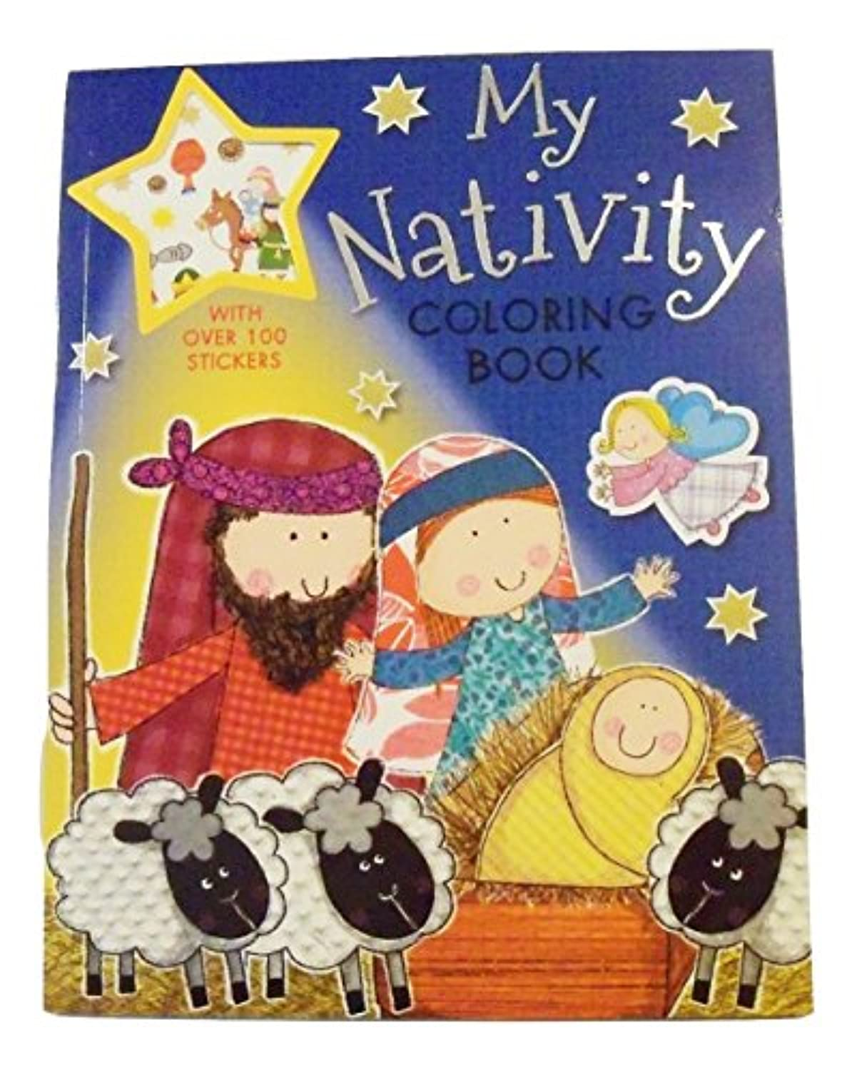 My Nativity Colouring Book with Over 100 Colour Stickers (20cm x 25cm ; 2014)