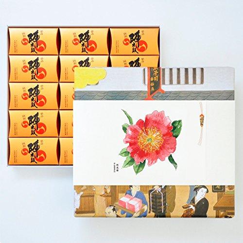 お菓子の香梅 特製誉の陣太鼓30個入 スイーツ 1150g 肥後六花オリジナルのし紙 【肥後椿】