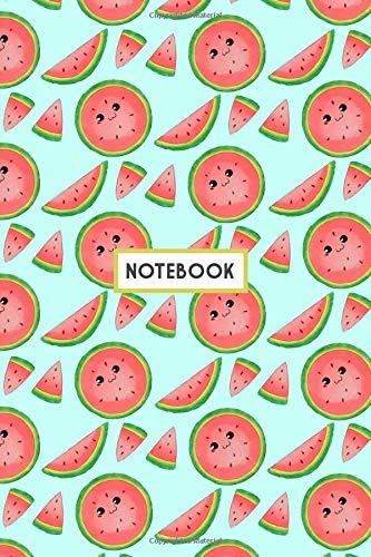 Notebook: Cute Watermelon Notebook  (Composition Book, Journal, Diary) (6.14