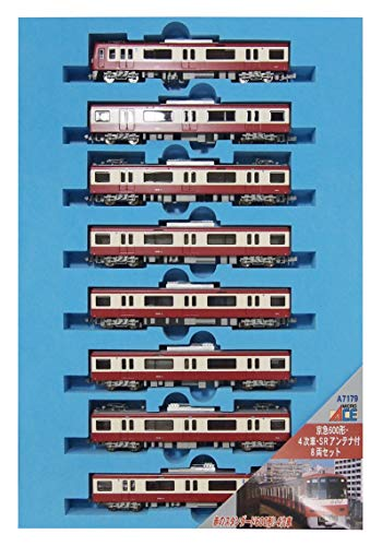 Micro Ace N Gauge Keikyu 600 Form 4 8-auto Set The Primary Vehicles Sr With Anten