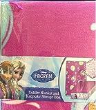 Disney Frozen Toddler Blanket and Keepsake Storage Box by Disney Frozen [並行輸入品]