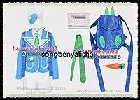 東京ディズニーランド(TDL)ディズニー・イースター2014 うさぎダンサー コスプレ衣装 リュック(青)付き