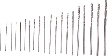 木工・樹脂用ドリル刃 ドリルセット チタンコーティングドリル 20本組 収納ケース付