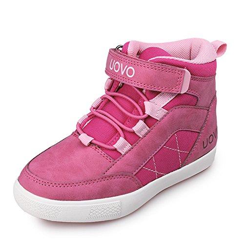 [해외]아동화 스노우 부츠 하이 컷 추동 용 신발 짧은 보아 부츠 남녀 겸용 뒷면 보아 미끄럼 방지 방수 保暖 운동화 등산화 하이킹 신발/Children`s shoes Snow boots High cut Fall-winter shoes Short boa boots Unisex dual-purpose bores anti-slip w...