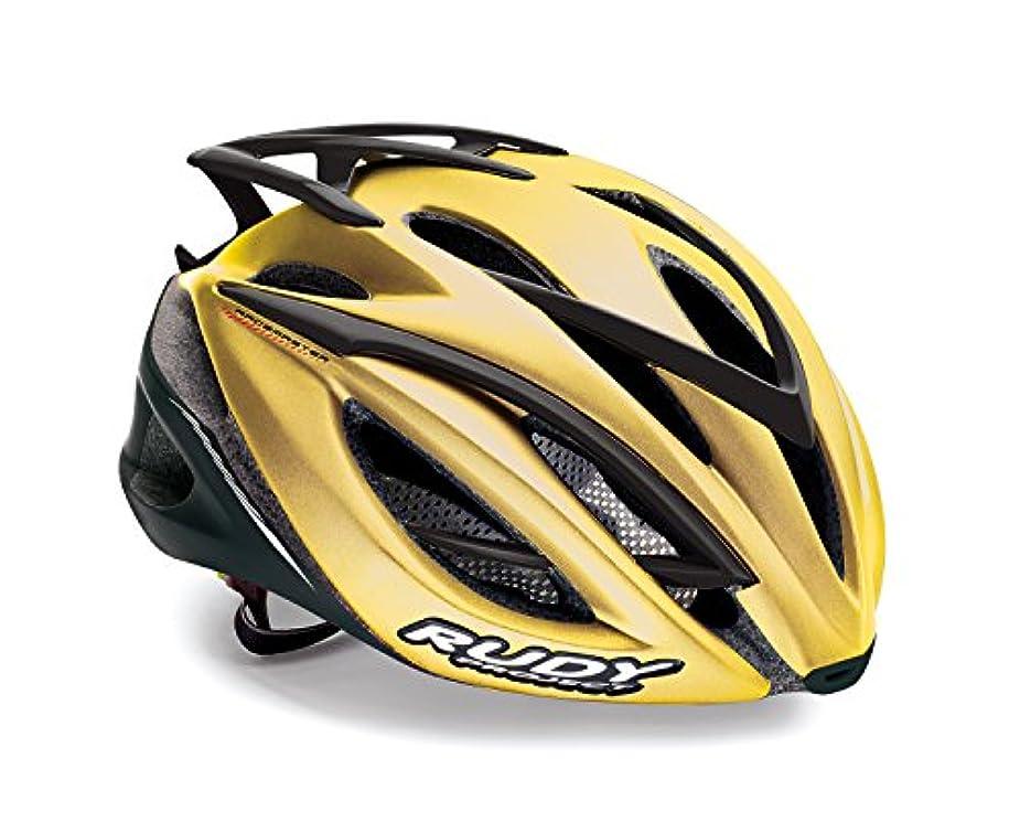 モディッシュペニーセクションRUDY PROJECT(ルディプロジェクト) ヘルメット RACEMASTER レースマスター ゴールド ベルベット S/M 0758-HL580041--